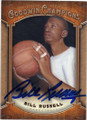 BILL RUSSELL AUTOGRAPHED BASKETBALL CARD #121415D