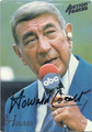 HOWARD COSELL AUTOGRAPHED FOOTBALL CARD #121815F