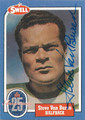 STEVE VAN BUREN PHILADELPHIA EAGLES AUTOGRAPHED VINTAGE FOOTBALL CARD #122115i
