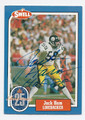 JACK HAM PITTSBURGH STEELERS AUTOGRAPHED FOOTBALL CARD #122315B