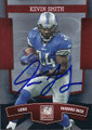 KEVIN SMITH DETROIT LIONS AUTOGRAPHED FOOTBALL CARD #122315D