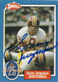 SONNY JURGENSEN WASHINGTON REDSKINS AUTOGRAPHED VINTAGE FOOTBALL CARD #122915C
