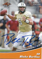BLAKE BORTLES UNIVERSITY OF CENTRAL FLORIDA AUTOGRAPHED ROOKIE FOOTBALL CARD #123115F