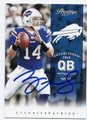 RYAN FITZPATRICK BUFFALO BILLS AUTOGRAPHED FOOTBALL CARD #10216F