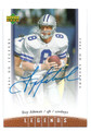 TROY AIKMAN DALLAS COWBOYS AUTOGRAPHED FOOTBALL CARD #10316F