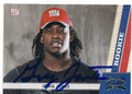 GREG JONES NEW YORK GIANTS AUTOGRAPHED ROOKIE FOOTBALL CARD #10316H