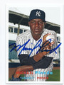 MICHAELPINEDA NEW YORK YANKEES AUTOGRAPHED BASEBALL CARD #10416C