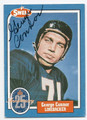 GEORGE CONNOR CHICAGO BEARS AUTOGRAPHED VINTAGE FOOTBALL CARD #10416E