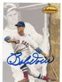 BOBBY DOERR BOSTON RED SOX AUTOGRAPHED BASEBALL CARD #10516G