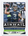 RUSSELL WILSON SEATTLE SEAHAWKS AUTOGRAPHED FOOTBALL CARD #10516H