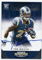 TRE MASON ST LOUIS RAMS AUTOGRAPHED ROOKIE FOOTBALL CARD #10616A