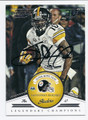 SANTONIO HOLMES PITTSBURGH STEELERS AUTOGRAPHED FOOTBALL CARD #10816H