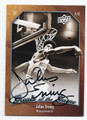 "JULIUS ERVING ""DR J"" AUTOGRAPHED BASKETBALL CARD #10816i"