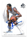 SAM PERKINS NORTH CAROLINA TAR HEELS AUTOGRAPHED BASKETBALL CARD #10916B