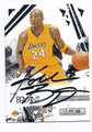 KOBE BRYANT LOS ANGELES LAKERS AUTOGRAPHED BASKETBALL CARD #10916H