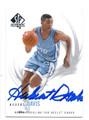 HUBERT DAVIS NORTH CAROLINA TAR HEELS AUTOGRAPHED BASKETBALL CARD #11016D