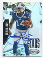 SAMMY WATKINS BUFFALO BILLS AUTOGRAPHED FOOTBALL CARD #11116i