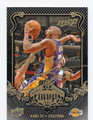 KOBE BRYANT LOS ANGELES LAKERS AUTOGRAPHED BASKETBALL CARD #11216J