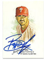 BRETT MYERS PHILADELPHIA PHILLIES AUTOGRAPHED BASEBALL CARD #11316E