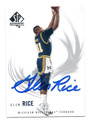 GLEN RICE MICHIGAN WOLVERINES AUTOGRAPHED BASKETBALL CARD #11316K