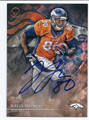JULIUS THOMAS DENVER BRONCOS AUTOGRAPHED FOOTBALL CARD #11416C