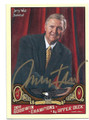 JERRY WEST LOS ANGELES LAKERS AUTOGRAPHED BASKETBALL CARD #11416F