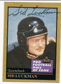 SID LUCKMAN CHICAGO BEARS AUTOGRAPHED FOOTBALL CARD #11516C