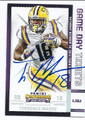 TERRENCE MAGEE LOUISIANA STATE UNIVERSITY AUTOGRAPHED ROOKIE FOOTBALL CARD #11516D