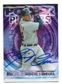 MIGUEL CABRERA DETROIT TIGERS AUTOGRAPHED BASEBALL CARD #11516G