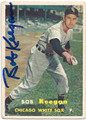 BOB KEEGAN CHICAGO WHITE SOX  AUTOGRAPHED VINTAGE BASEBALL CARD #11615D