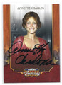 ANNETTE CHARLES AUTOGRAPHED CARD #11616G