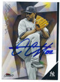 CC SABATHIA NEW YORK YANKEES AUTOGRAPHED BASEBALL CARD #11816J
