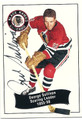 GEORGE SULLIVAN CHICAGO BLACK HAWKS AUTOGRAPHED HOCKEY CARD #11916G