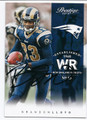 BRANDON LLOYD ST LOUIS RAMS AUTOGRAPHED FOOTBALL CARD #11916H