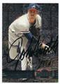 JOHN SMOLTZ ATLANTA BRAVES AUTOGRAPHED BASEBALL CARD #12016E