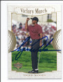 TIGER WOODS AUTOGRAPHED GOLF CARD #12016H
