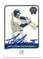 BUCKY DENT NEW YORK YANKEES AUTOGRAPHED BASEBALL CARD #12016L