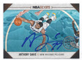 ANTHONY DAVIS NEW ORLEANS PELICANS AUTOGRAPHED BASKETBALL CARD #12316A