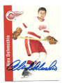 ALEX DELVECCHIO DETROIT RED WINGS AUTOGRAPHED HOCKEY CARD #12316F