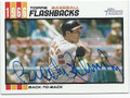 BROOKS ROBINSON BALTIMORE ORIOLES AUTOGRAPHED BASEBALL CARD #12316J