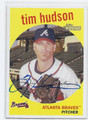 TIM HUDSON ATLANTA BRAVES AUTOGRAPHED BASEBALL CARD #12416D