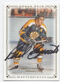 PHIL ESPOSITO BOSTON BRUINS AUTOGRAPHED HOCKEY CARD #12516K