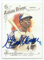 HANK AARON ATLANTA BRAVES AUTOGRAPHED BASEBALL CARD #12616A