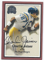 CHARLIE JOINER SAN DIEGO CHARGERS AUTOGRAPHED FOOTBALL CARD #12716i