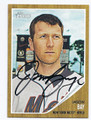 JASON BAY NEW YORK METS AUTOGRAPHED BASEBALL CARD #12816F
