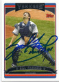 SAL FASANO NEW YORK YANKEES AUTOGRAPHED BASEBALL CARD #12916D
