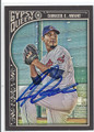 CARLOS CARRASCO CLEVELAND INDIANS AUTOGRAPHED BASEBALL CARD #13016F