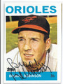 BROOKS ROBINSON BALTIMORE ORIOLES AUTOGRAPHED BASEBALL CARD #13116E