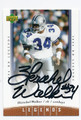 HERSCHEL WALKER DALLAS COWBOYS AUTOGRAPHED FOOTBALL CARD #13116F