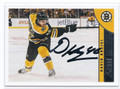 DAVID KREJCI BOSTON BRUINS AUTOGRAPHED HOCKEY CARD #13116L